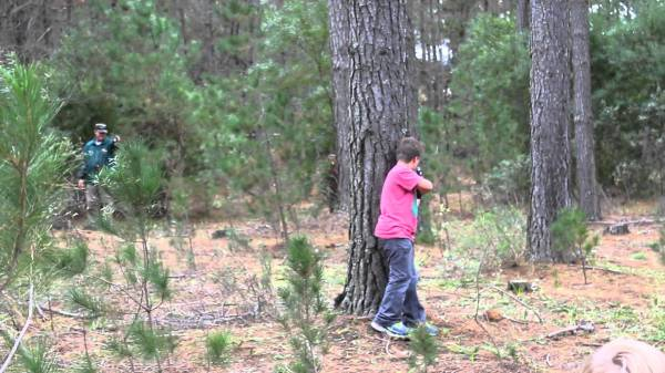 Youth Outdoor Laser Tag