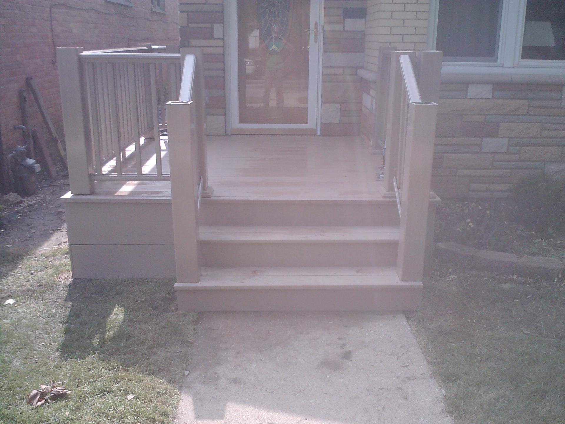 Composite deck
