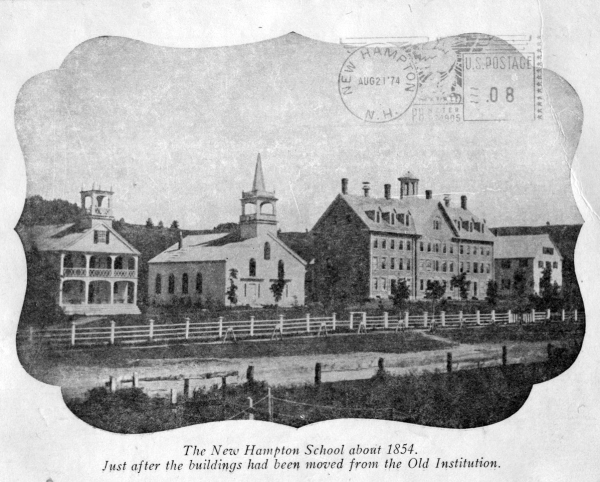 New Hampton School circa 1854