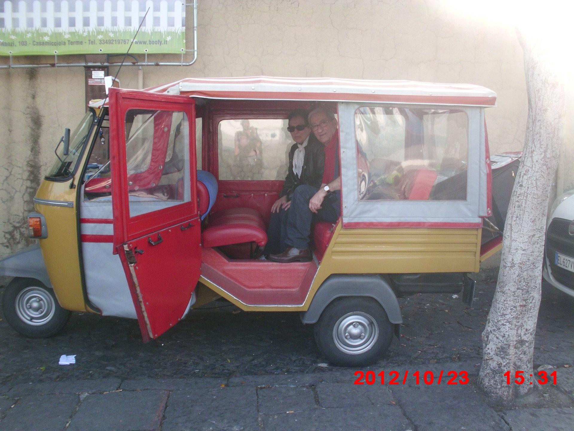 Ischia arriving point - Ischian Taxis