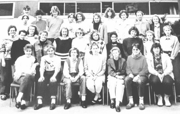 9th School year at the catholic private girl's Gymnasium Edith-Stein-Schule, Darmstadt, Hesse, Germa
