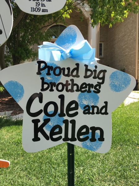 new big brother gift, stork sign rentals, stork birth announcement, rent a stork