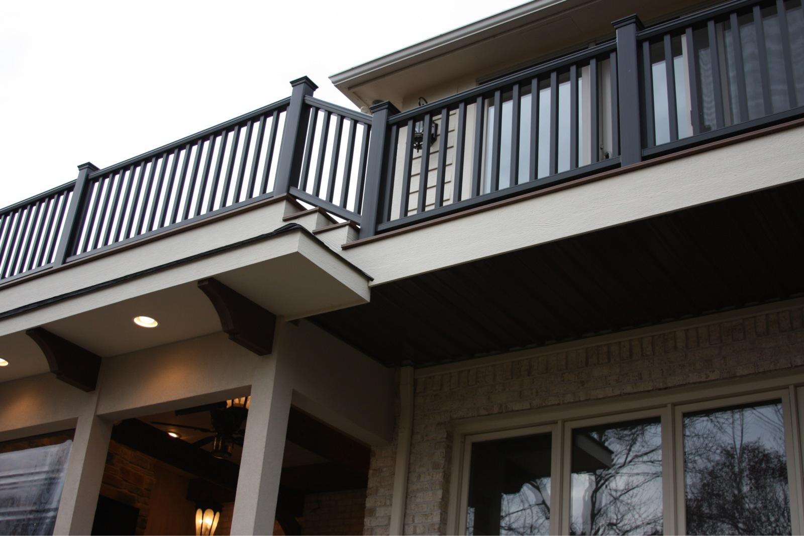 Deck above Addition