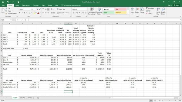 budget debt plan