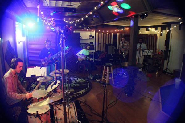 Duprey Studio Recording  Live room drums