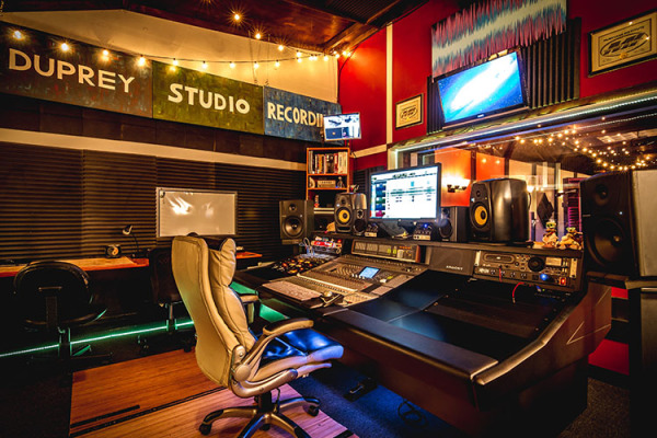 Duprey Studio Recording Control Room