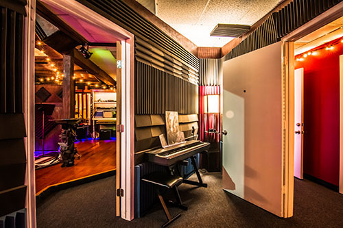 Duprey Studio Recording  Iso booth