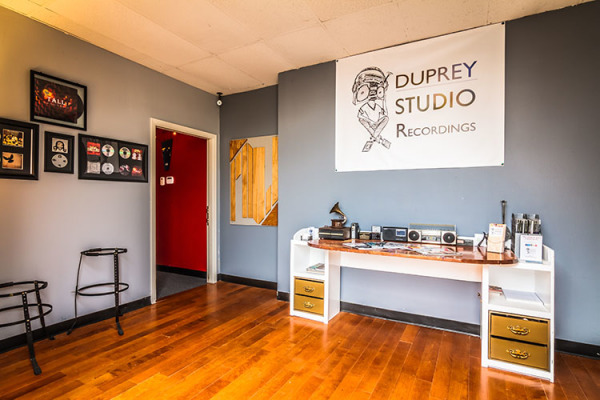 dallas main entrance Duprey Studio Recording