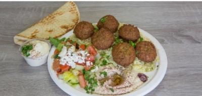 Mediterranean Falafel Plate