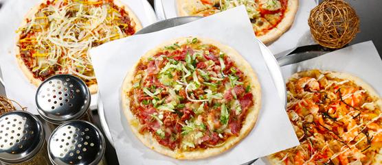 Flash Pizza Menu