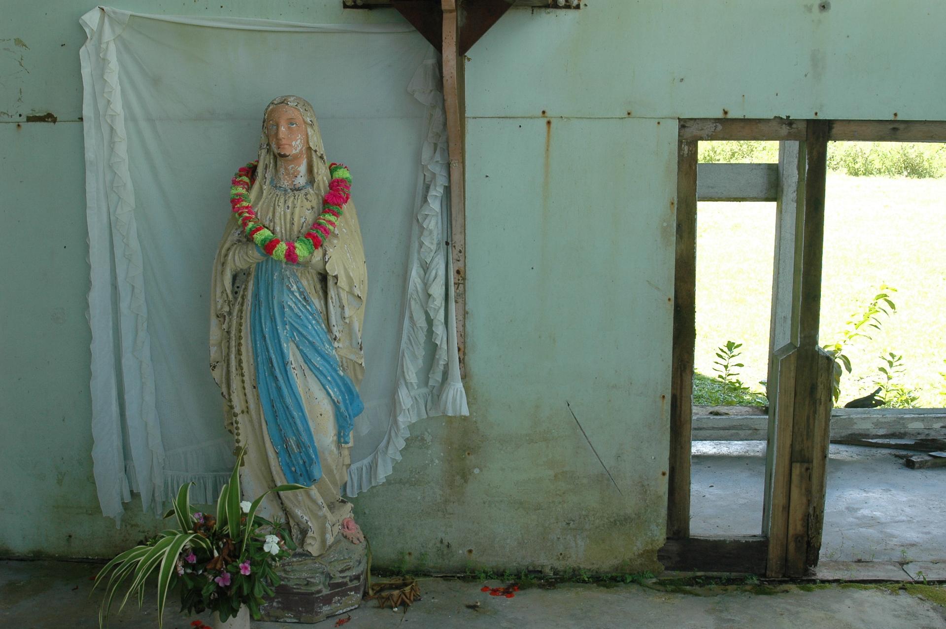 Marian devotion and warfare in Bougainville