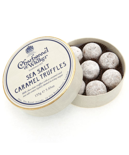 MILK SEA SALT CARAMEL TRUFFELS