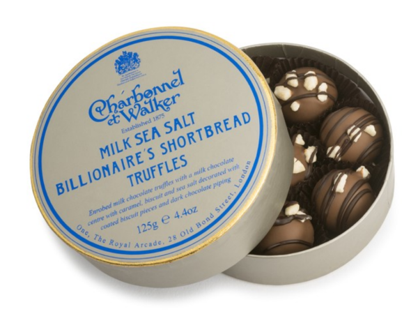 MILK SEA SALT BILLIONAIRE'S TRUFFLES