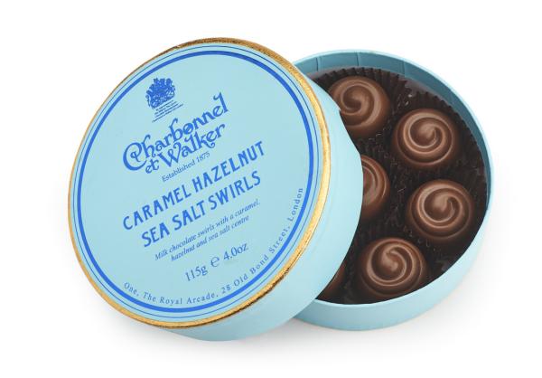 CARAMEL HAZELNUT SWIRLS