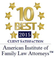 10 Best 2015 Client Satisfaction American Institute of family Law Attorneys