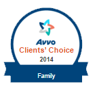 Avvo Clients' Choice 2014 for Family Law