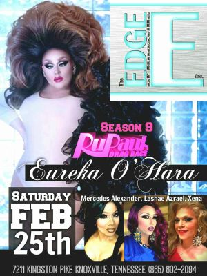 EUREKA TO APPEAR AT THE EDGE