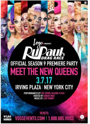 EUREKA TO APPEAR AT THE OFFICIAL SEASON 9 PREMIERE PARTY