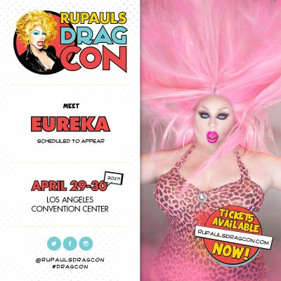 EUREKA TO APPEAR AT DRAGCON