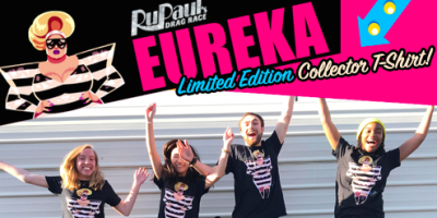 "BUY NOW: ""Go Gaga for Eureka"" Collector T-shirt supports LGBTQ Youth"