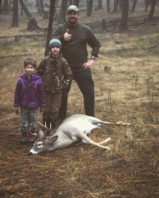 Dortman Family Hunt 2016 (Aaron, Ethan, Ava)