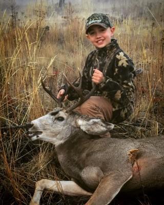 Ethan Dortman 2016 Mule Deer