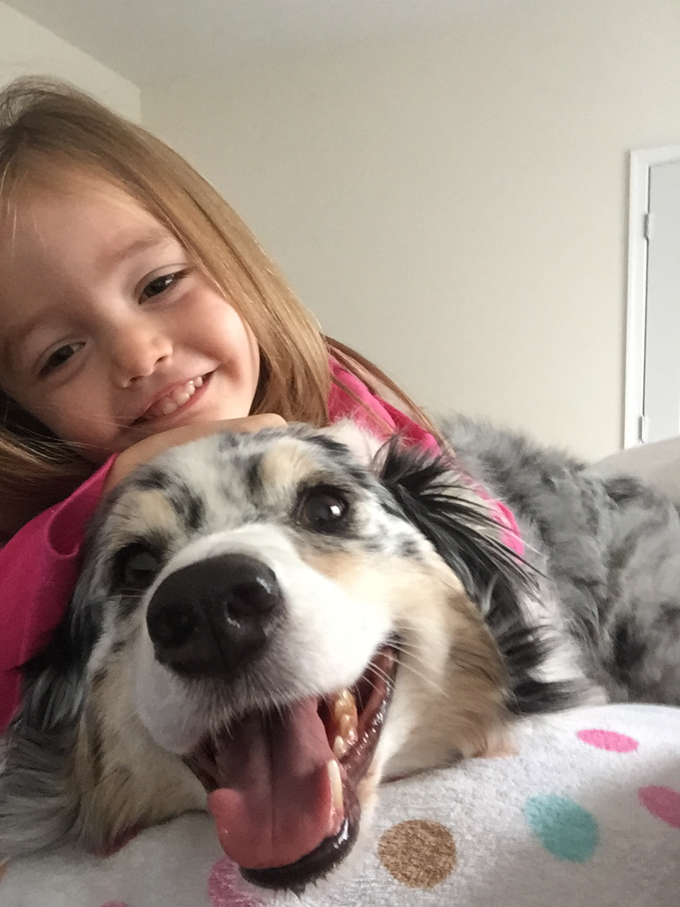 Kasha and her little human, Gracie