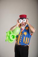 Professor Whizzpop Balloon Twisting, Asheville