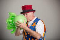 Professor Whizzpop Balloon twisting Asheville