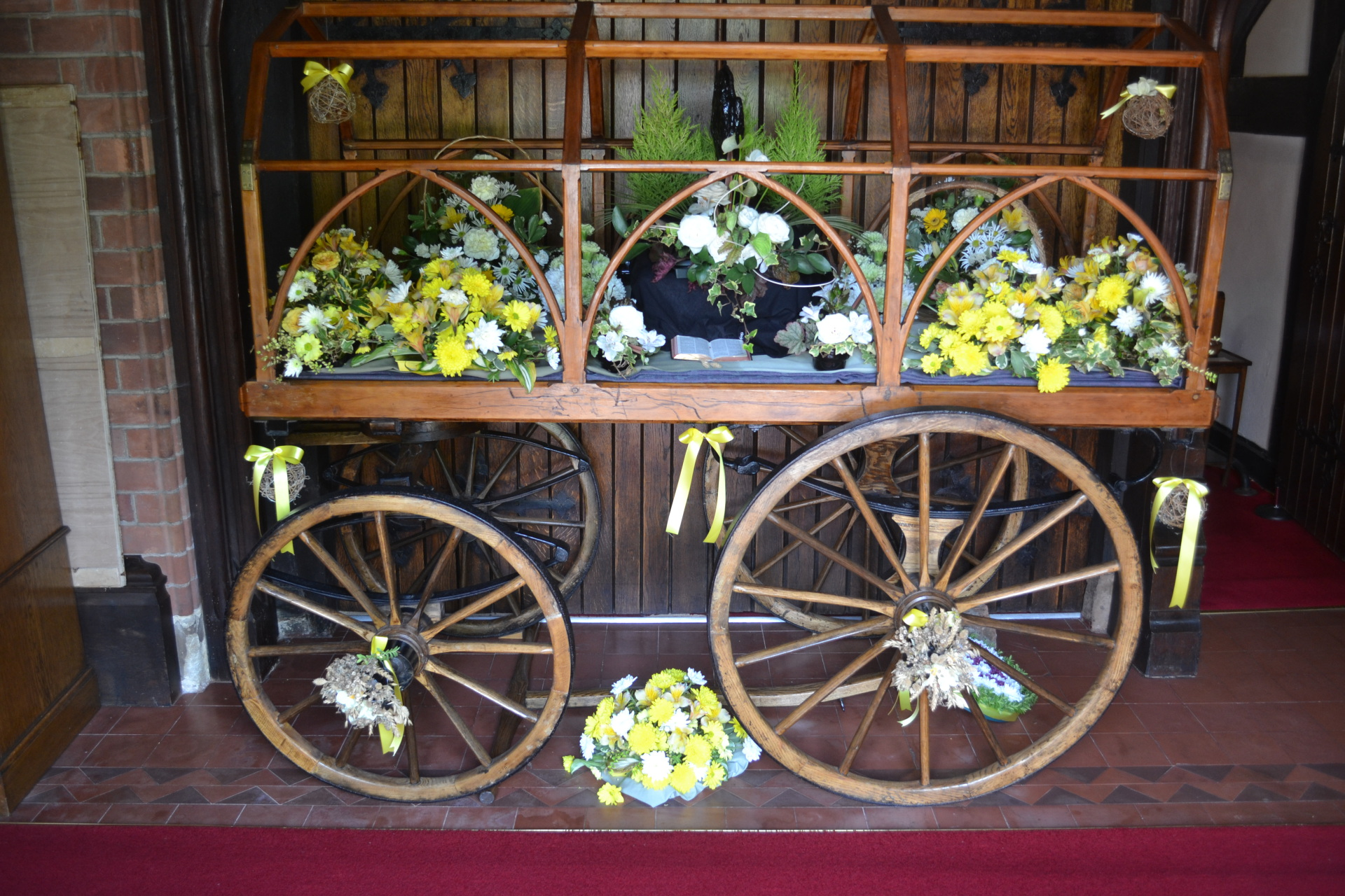 Victorian Funeral Bier