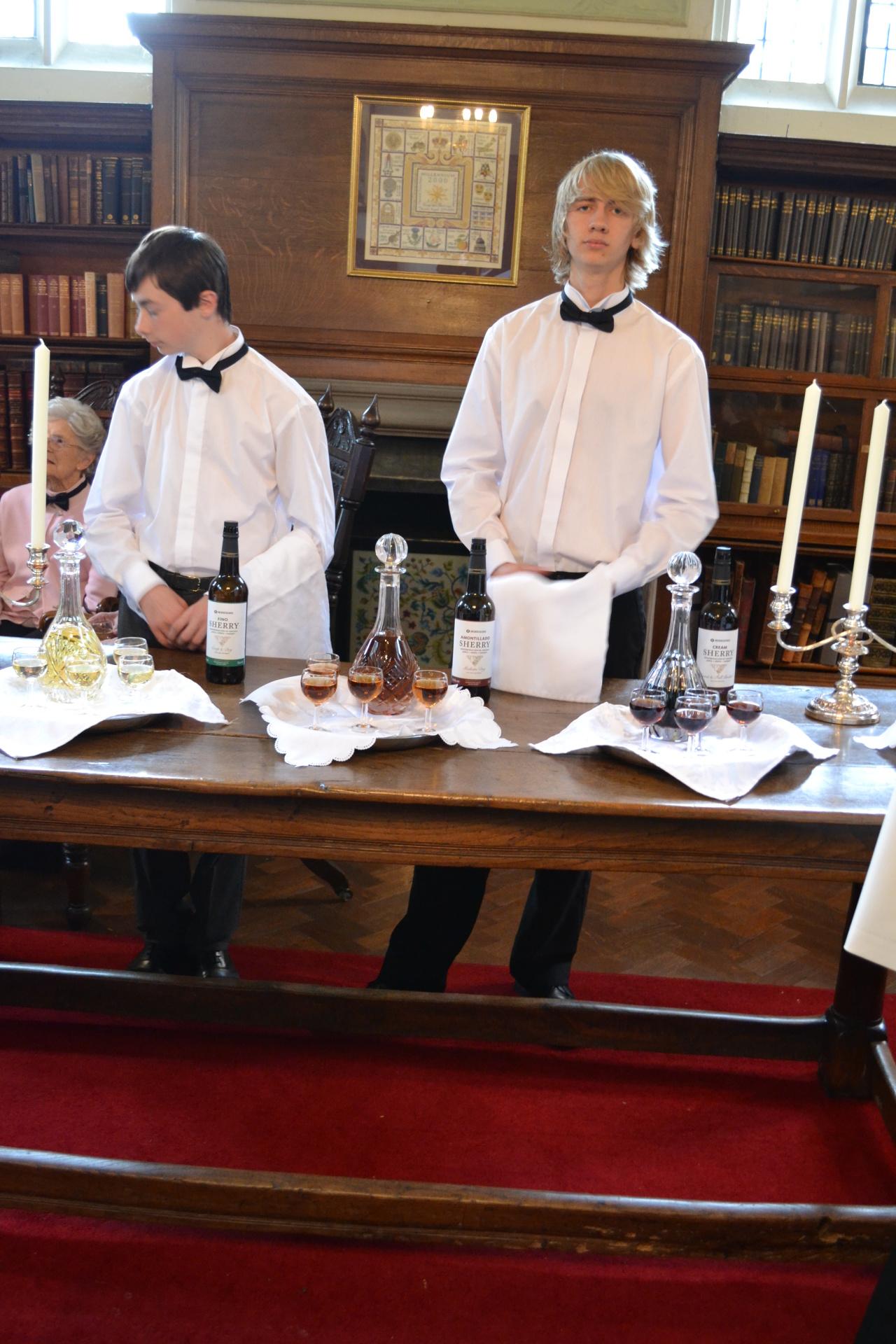 Multi-tasking of our Altar Servers!