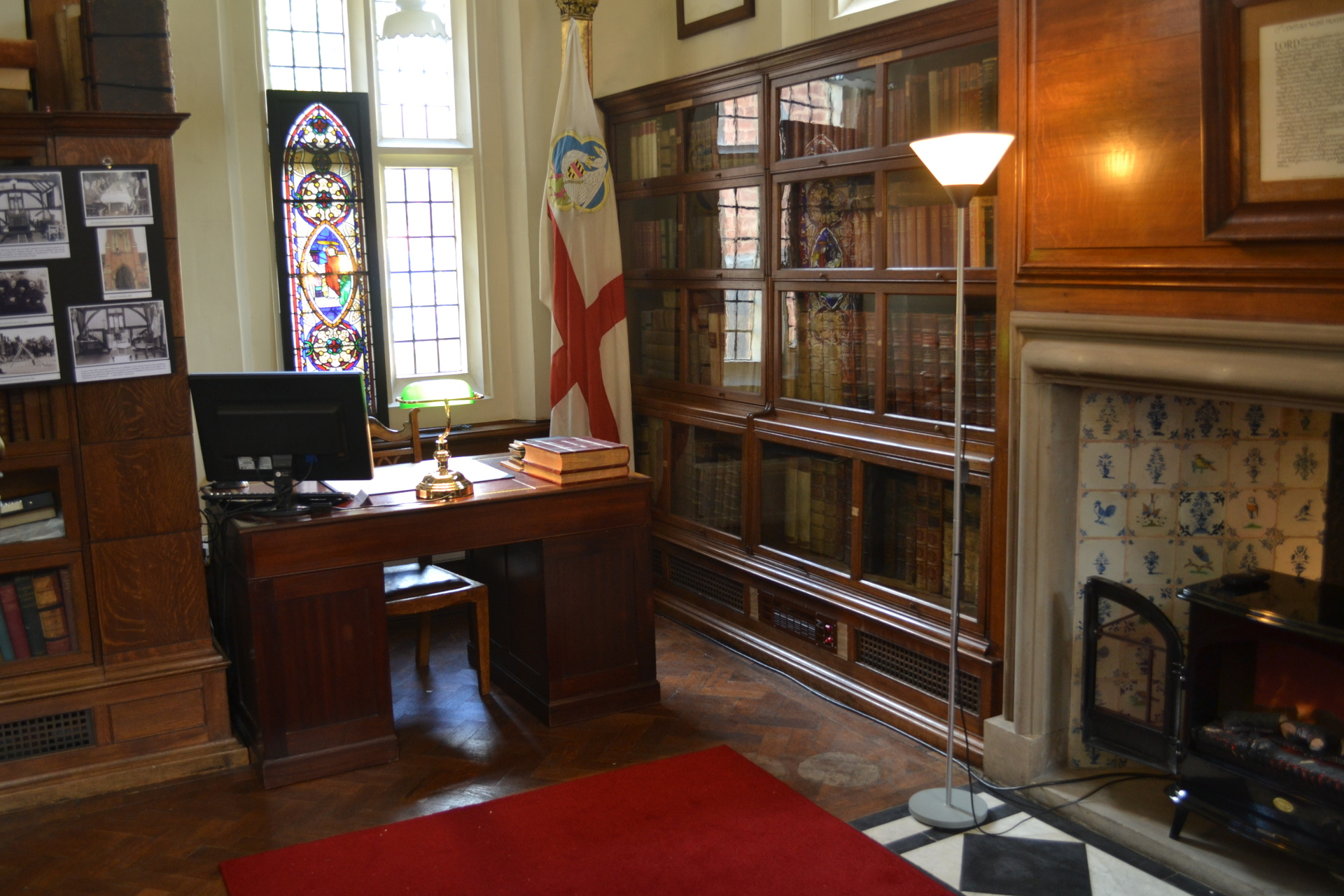 The Archivist's Desk