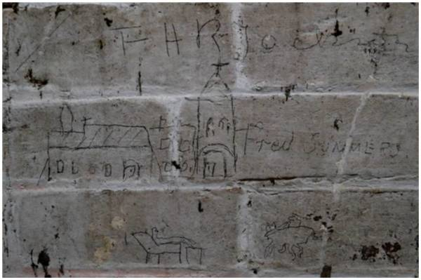 Drawings by Master Fred Summers in 1895