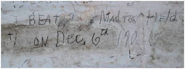 The victory immortalised!