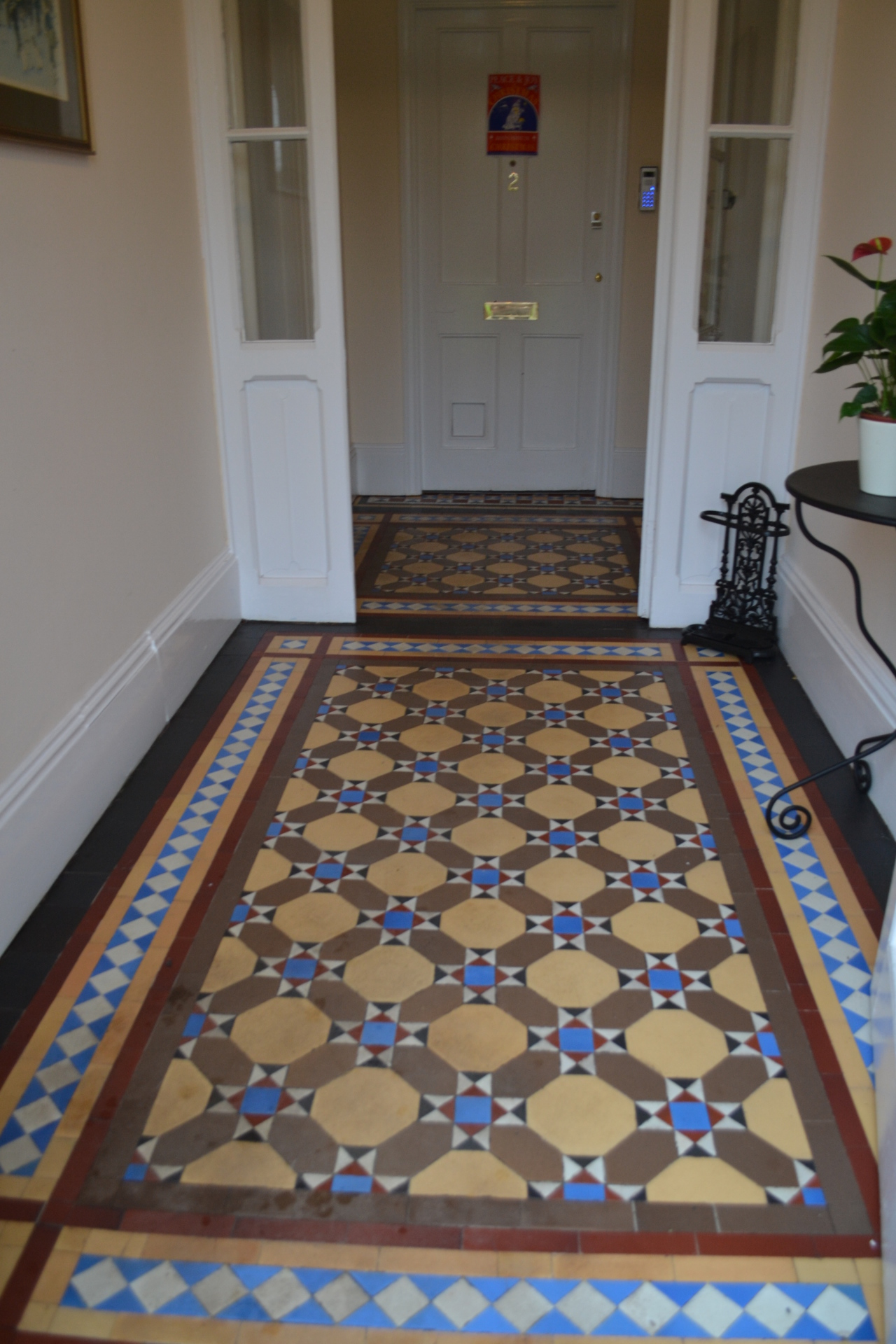 Encaustic Hall Tiles