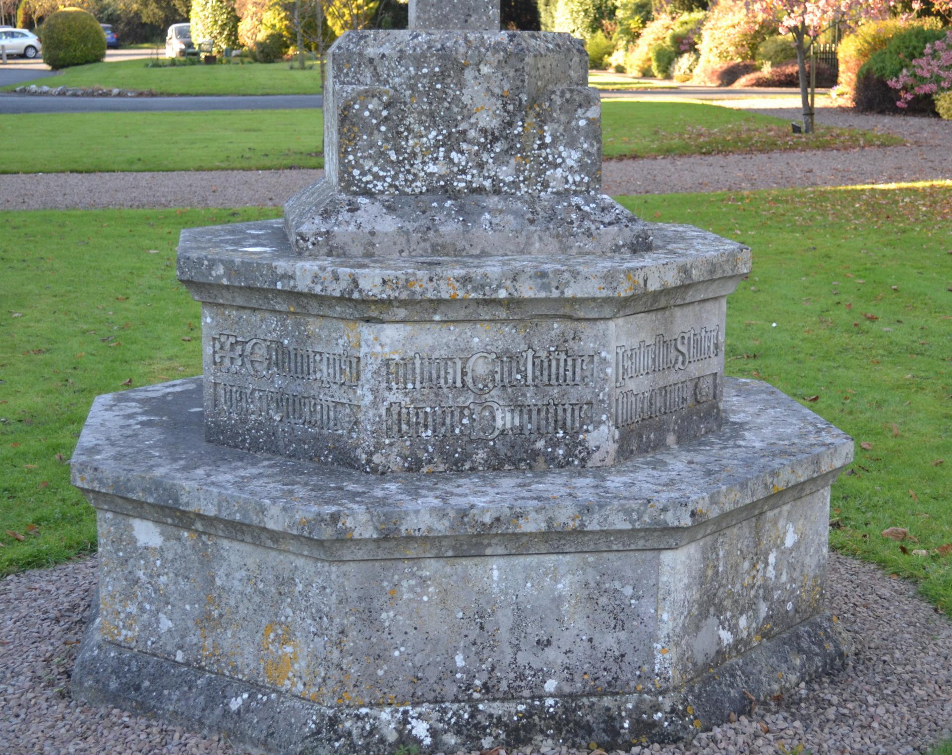 Cross Plinth