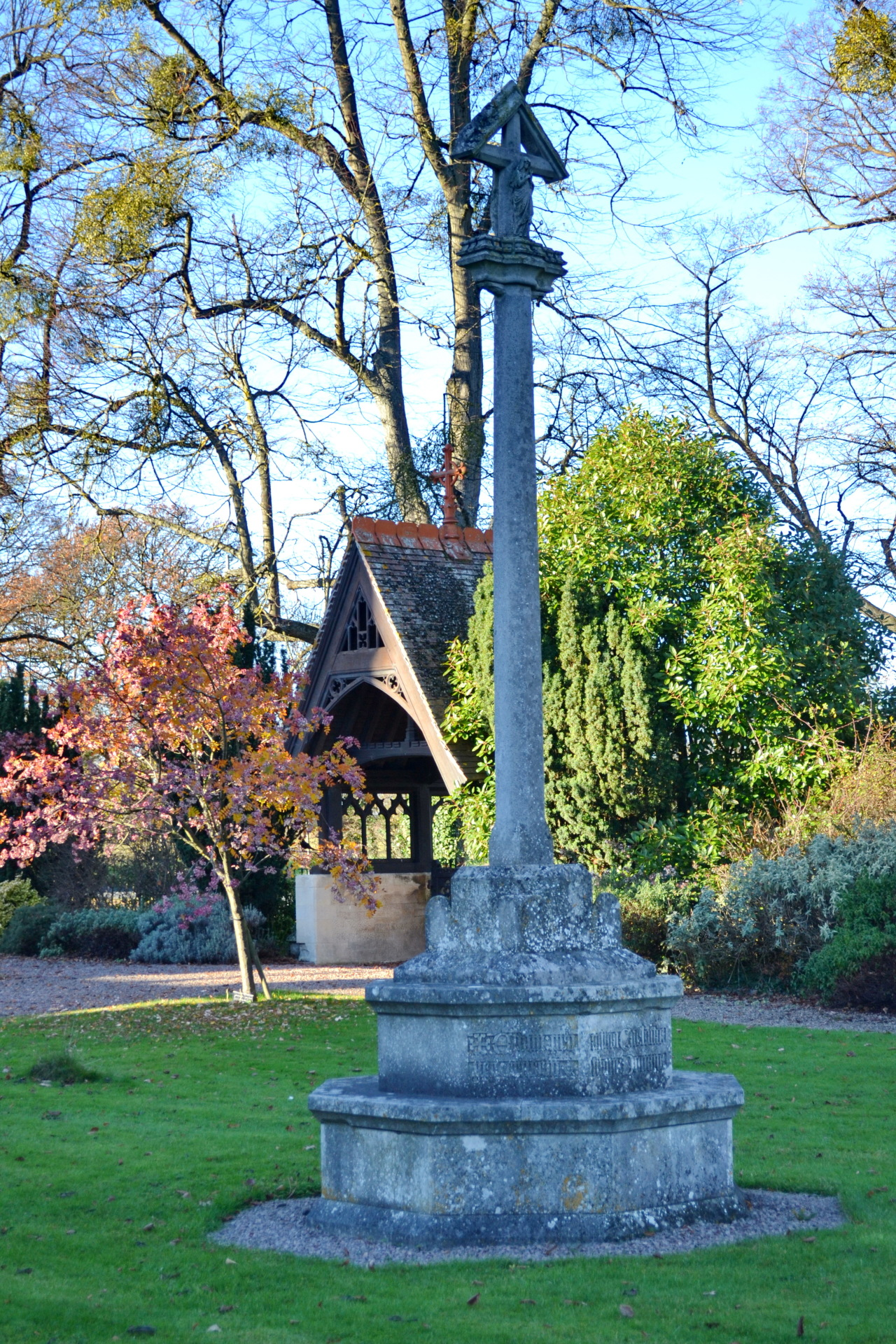 The Lychgate & Memorial Cross