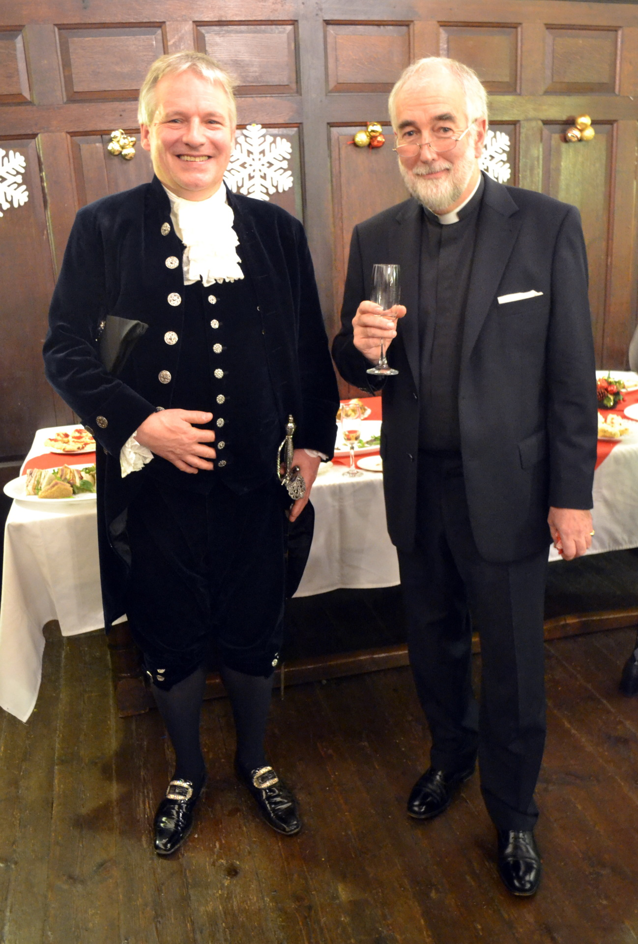 The Chaplain and the Lord High Sheriff of Worcester