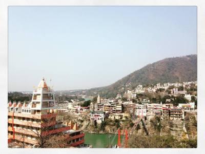 Rishikesh view  (Laxman Julha bridge)