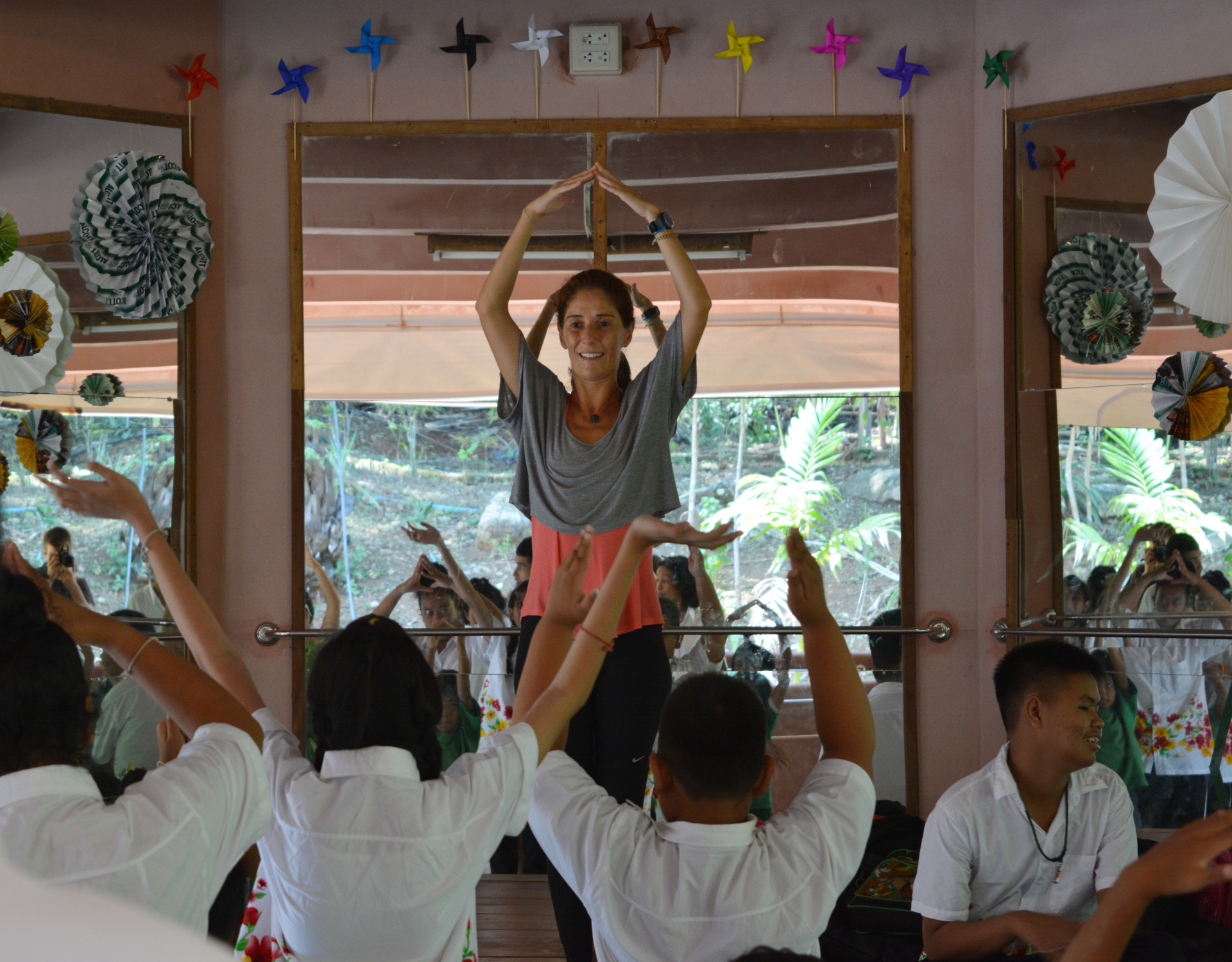 Teaching at Thai Child Development Foundation (Thailand, May 16)