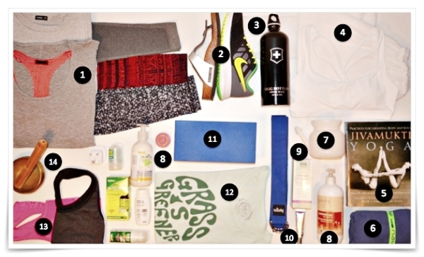 Packing for your YTT aborad?