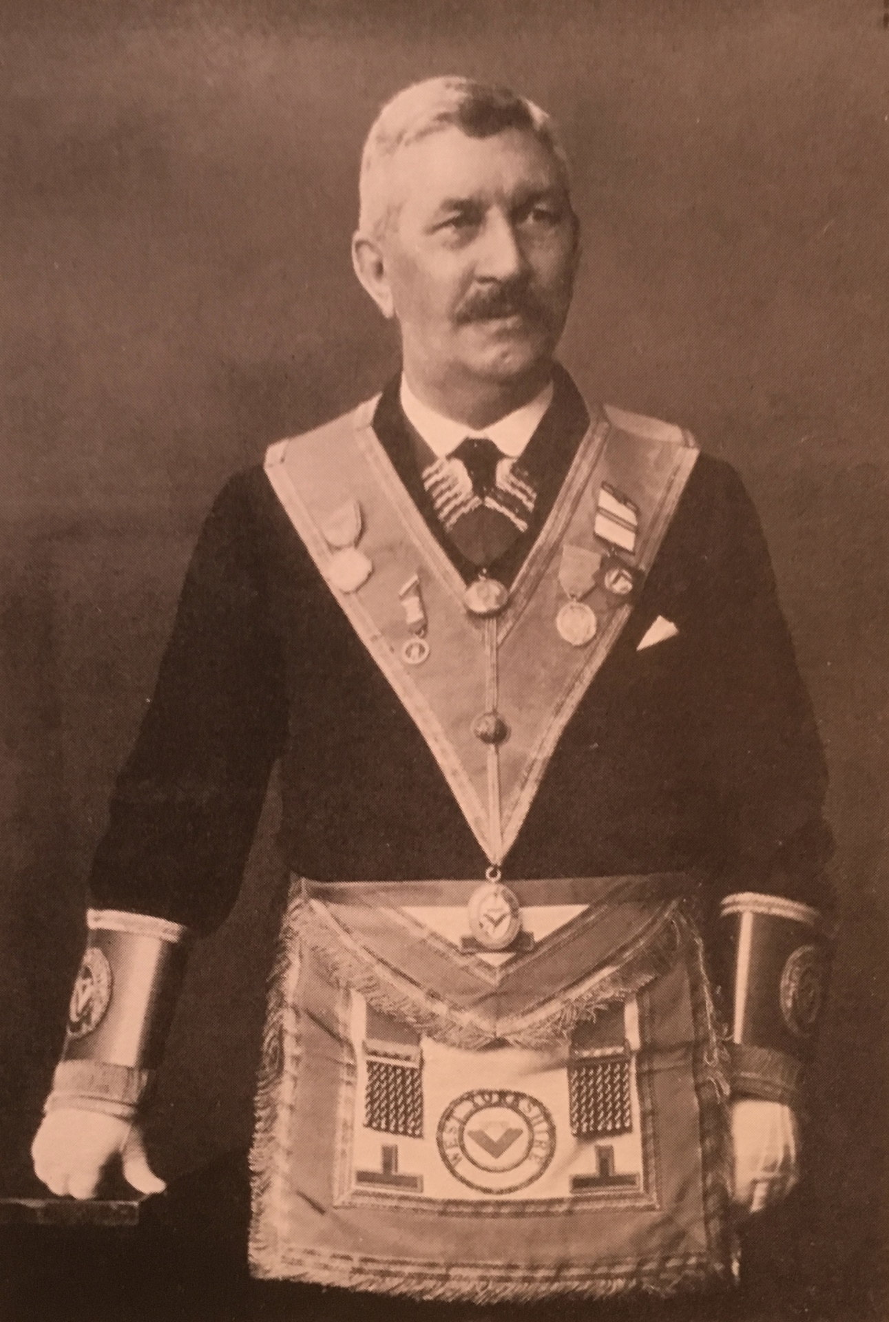 W.Bro. George Whittington, J.P., P.G.D., Assistant Provincial Grand Master
