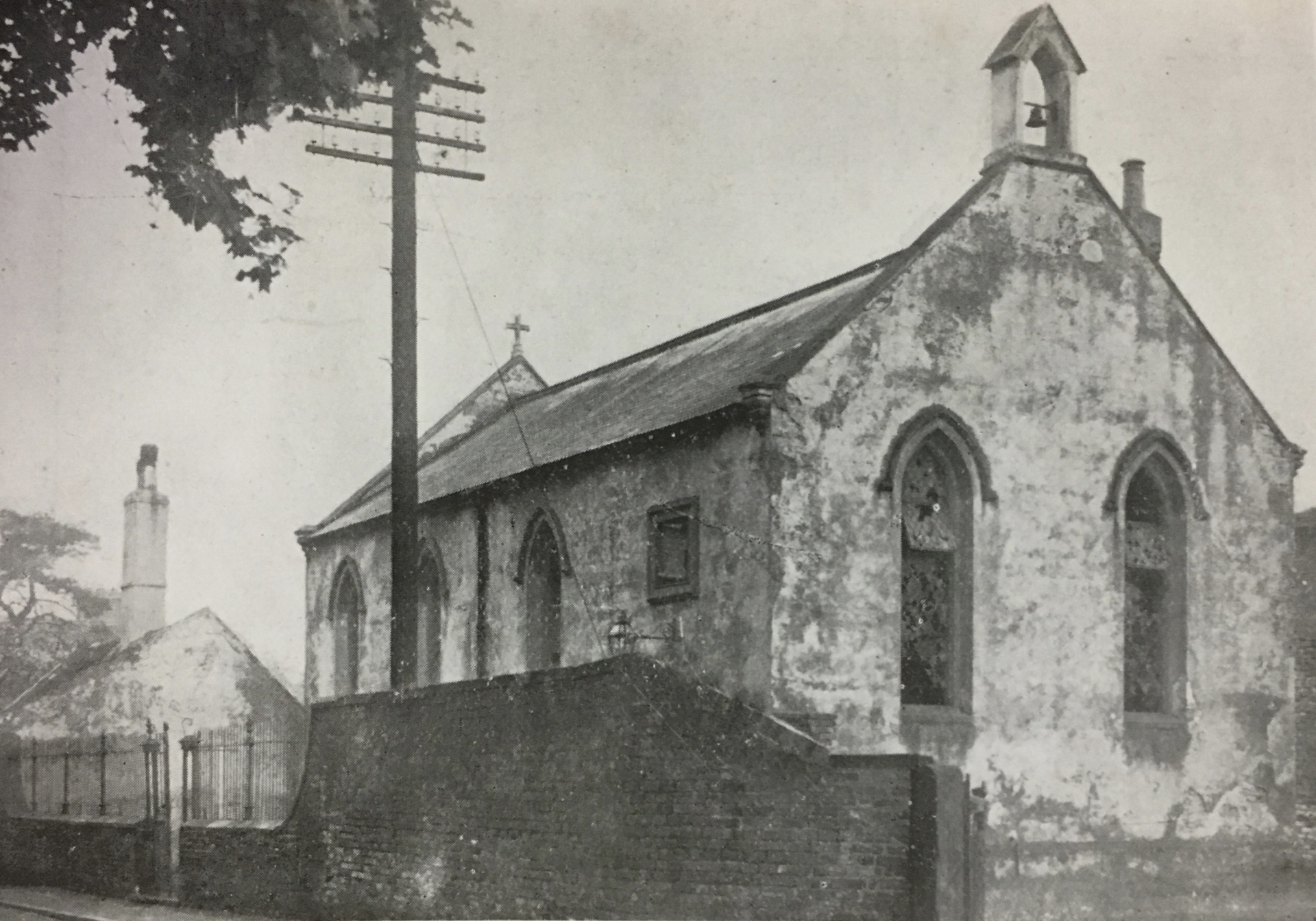 Bawtry Lodge prior to restoration 1930