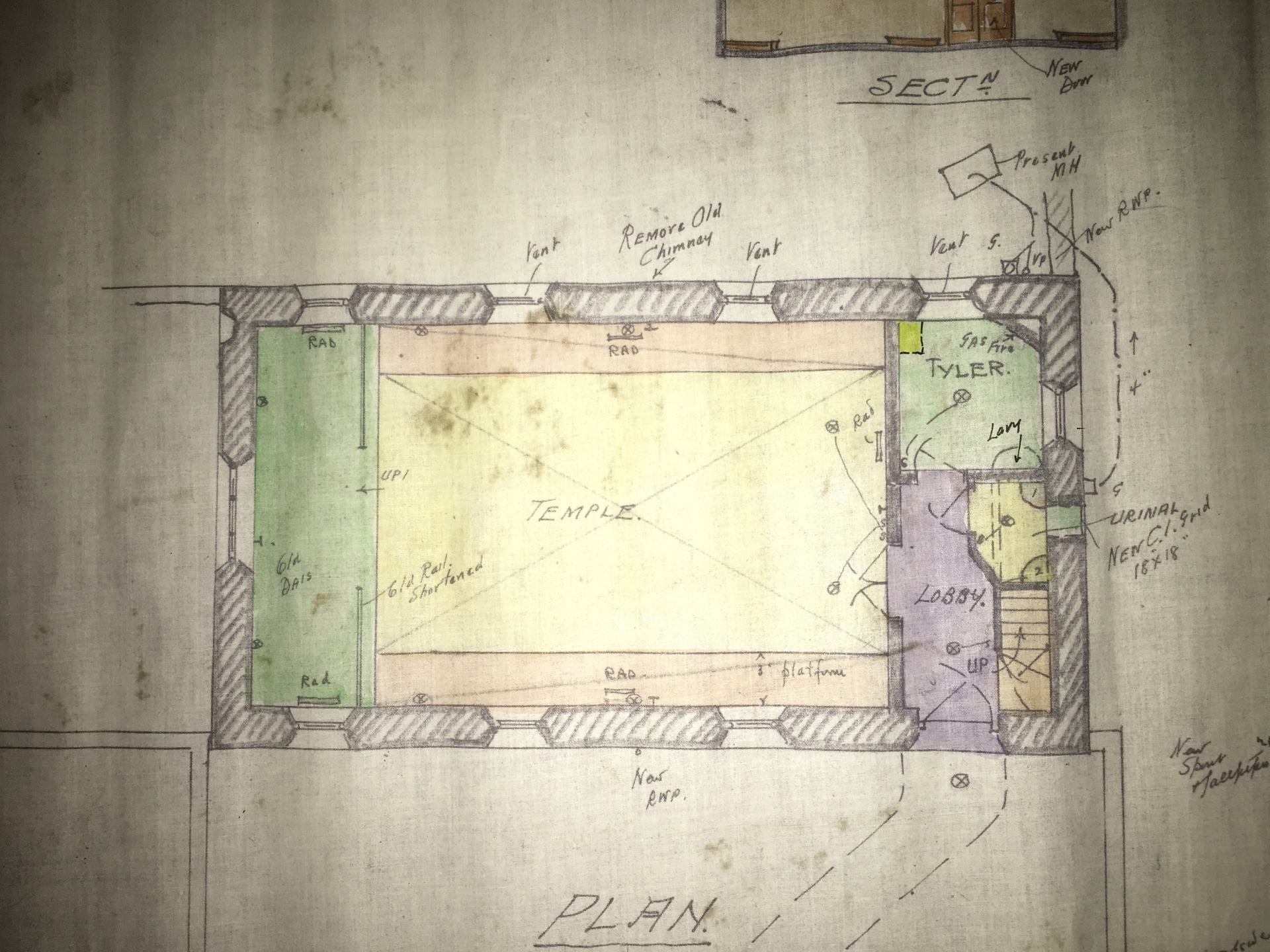 Bawtry Lodge interior plan