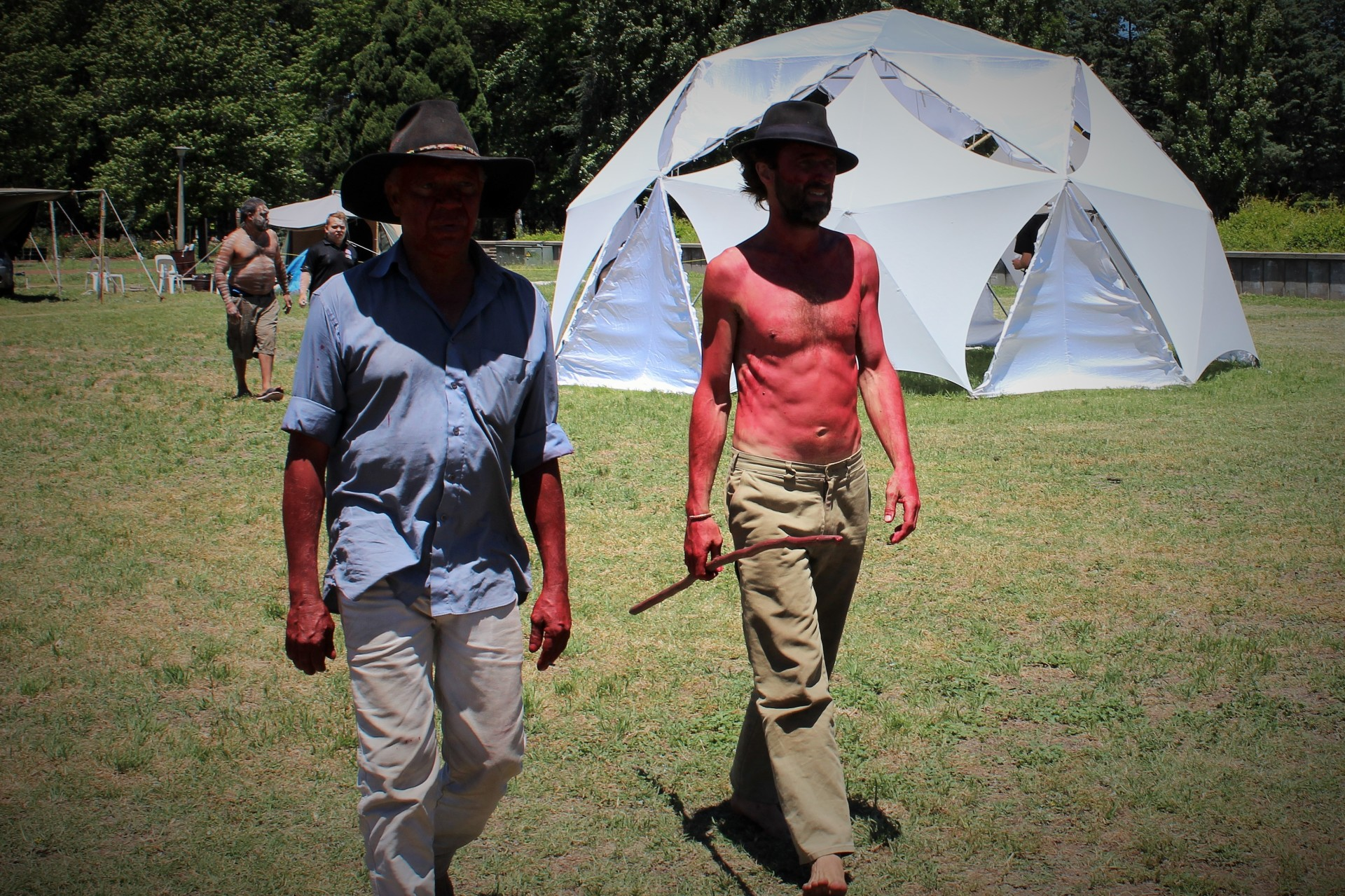 Closing Pine Gap with Peltherre Chris Tomlins