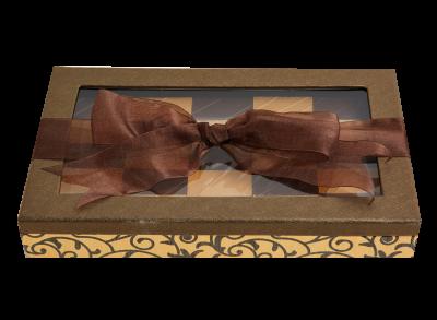 Elegant Chocolate Scroll