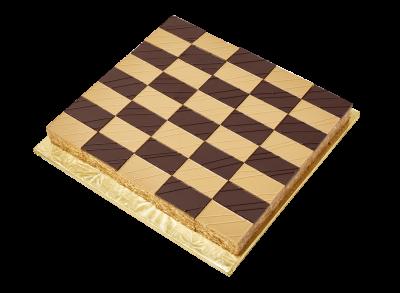 "#PBC25M1 9"" X 9"" Checkerboard shape platter (40 pieces)"