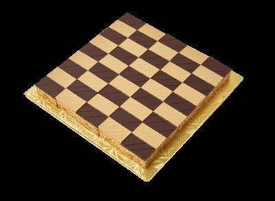 "#PBC25M2 10"" X 10"" Checkerboard shape platter (45 pieces)"