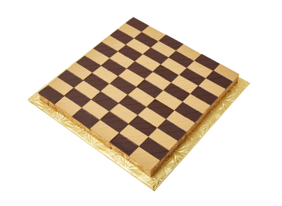 "#PBC25XL 12"" X 12"" Checkerboard shape platter (66 pieces)"