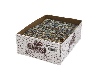 ALMONDS & CHSHEWS with a blue chocolate drizel  (Item # BCNACB-BULK)